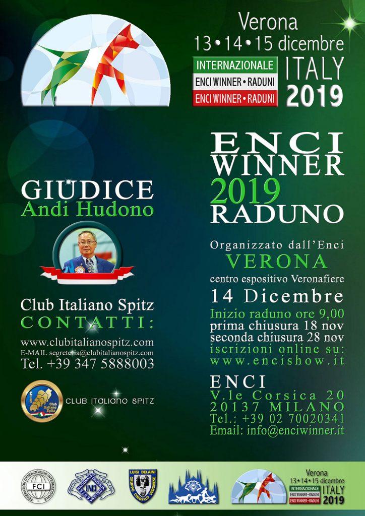 Enci Winner 2019