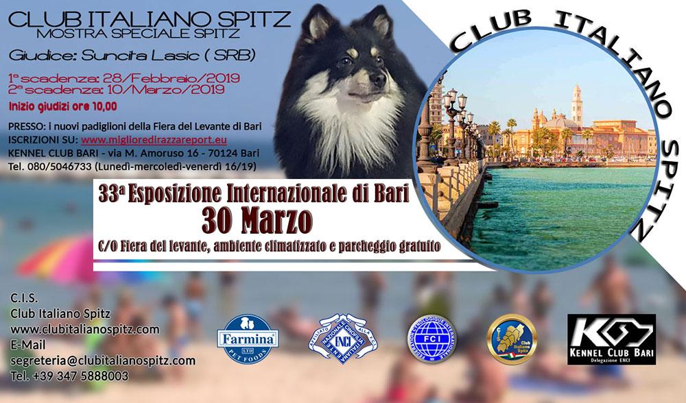 Speciale di Bari 2019